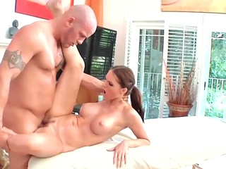 Jennifer Dark making eye contact during wild uncontrolled sex