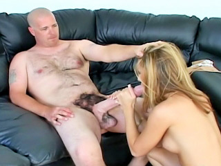 Chick gets her latina pussy and mouth fucked by monster cock