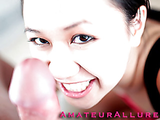 Carmina is a gorgeous twenty year old Oriental student, with a cute little body and an extreme longing for pecker. It appears that Carmina has sucked off about fifty guys! That's a large number for somebody still in college. That Babe is too blessed with
